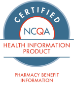 NCQA Certified Pharmacy Benefit Information
